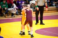 Elementary Maroon & Gold Wrestling