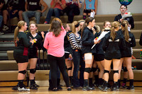 Panther Volleyball vs Battle Lake